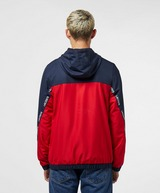 Lacoste Diagonal Tape Hooded Track Top