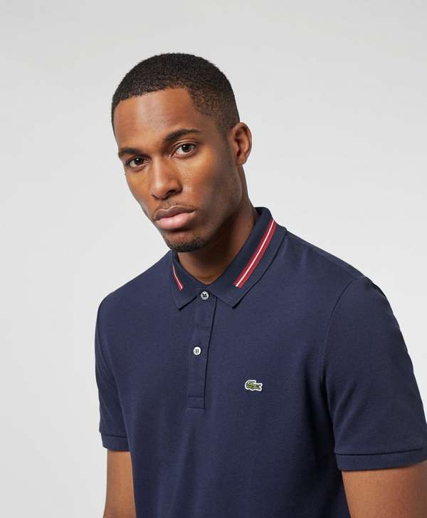 Lacoste Mid Tipped Collar Short Sleeve Polo Shirt