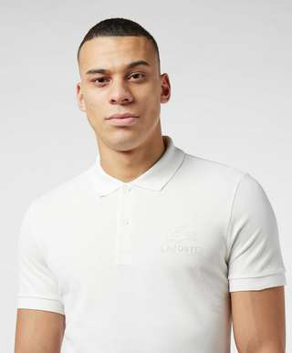 Lacoste Embroidered Croc Short Sleeve Polo Shirt