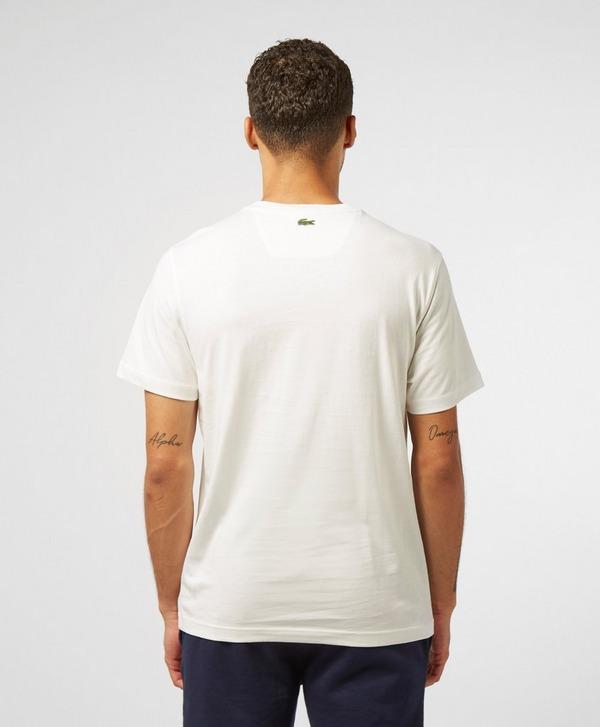 Lacoste Multi Logo Short Sleeve T-Shirt