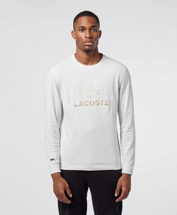 Lacoste Tonal Logo Long Sleeve T-Shirt