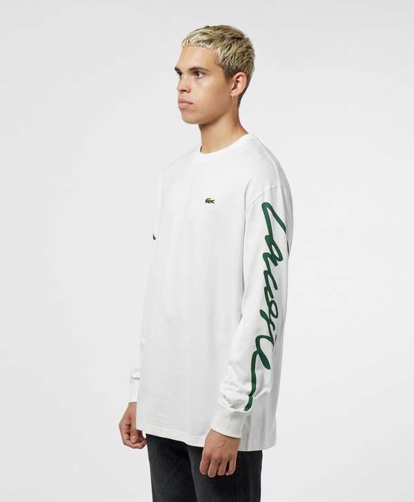 Lacoste Live Arm Logo Long Sleeve T-Shirt