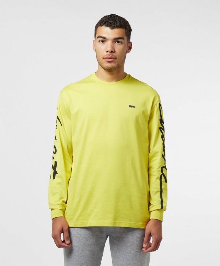 Lacoste Live Arm Logo Long Sleeve T-Shirt