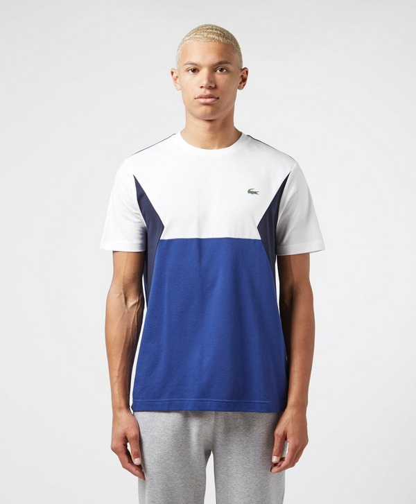 Lacoste Geo Block Short Sleeve T-Shirt