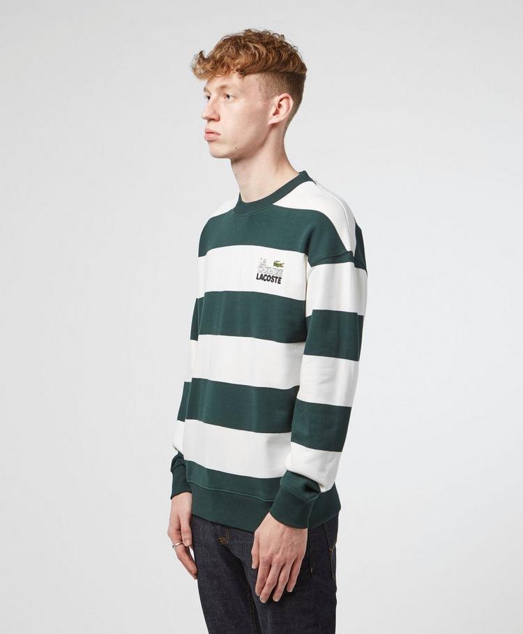 Lacoste Live Rugby Stripe Sweatshirt