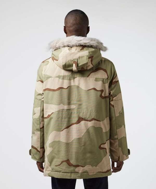 Lacoste Live Hooded Padded Parka Jacket