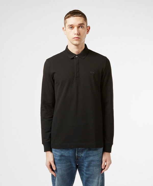 Lacoste Paris Long Sleeve Polo Shirt