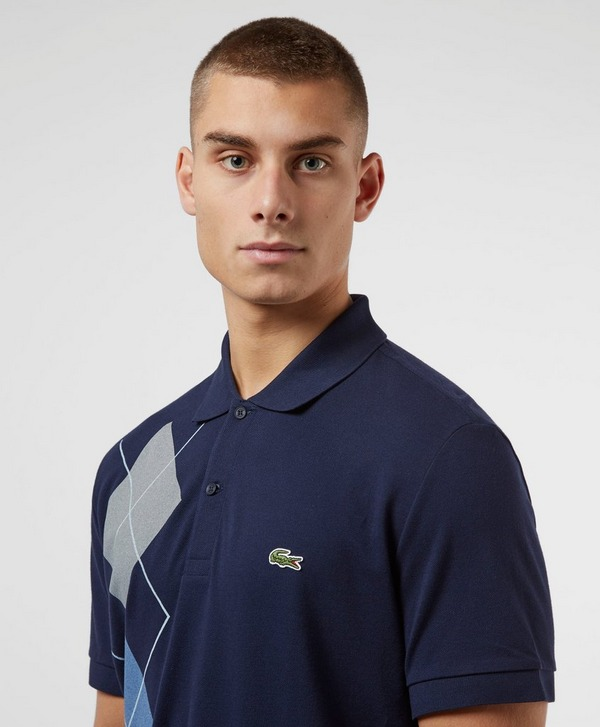 Lacoste Diamond Short Sleeve Polo Shirt