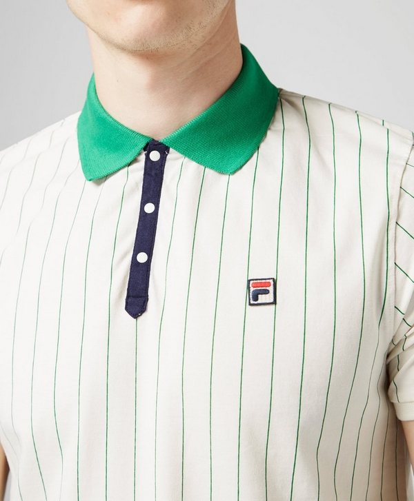 0db8cc559c Fila BB1 Striped Polo Shirt | scotts Menswear