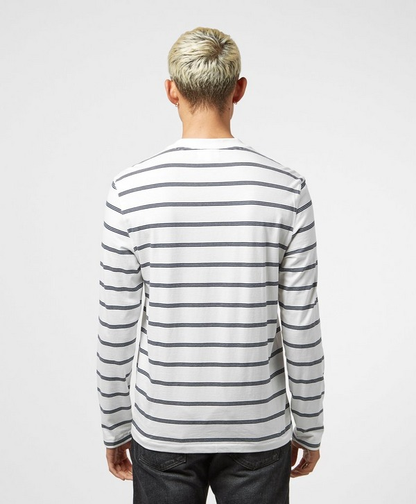 Lacoste Stripe Long Sleeve T-Shirt