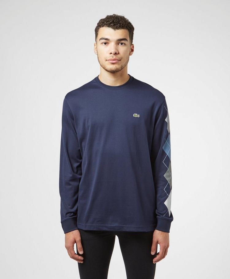 Lacoste Diamond Long Sleeve T-Shirt