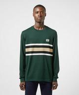 Lacoste Badge Stripe Long Sleeve T-Shirt