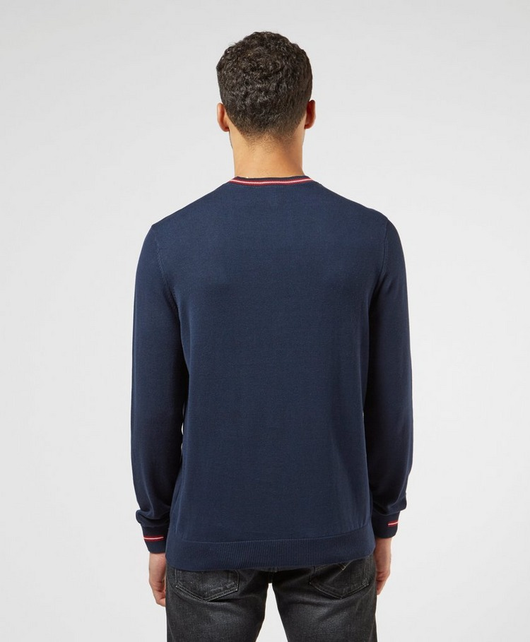 Lacoste Tipped Crew Knit Jumper