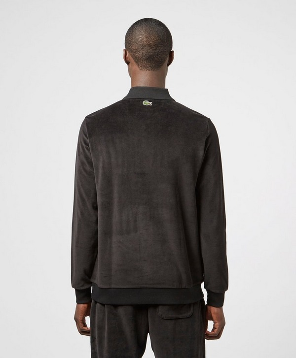 Lacoste Live Velour Half Button Sweatshirt