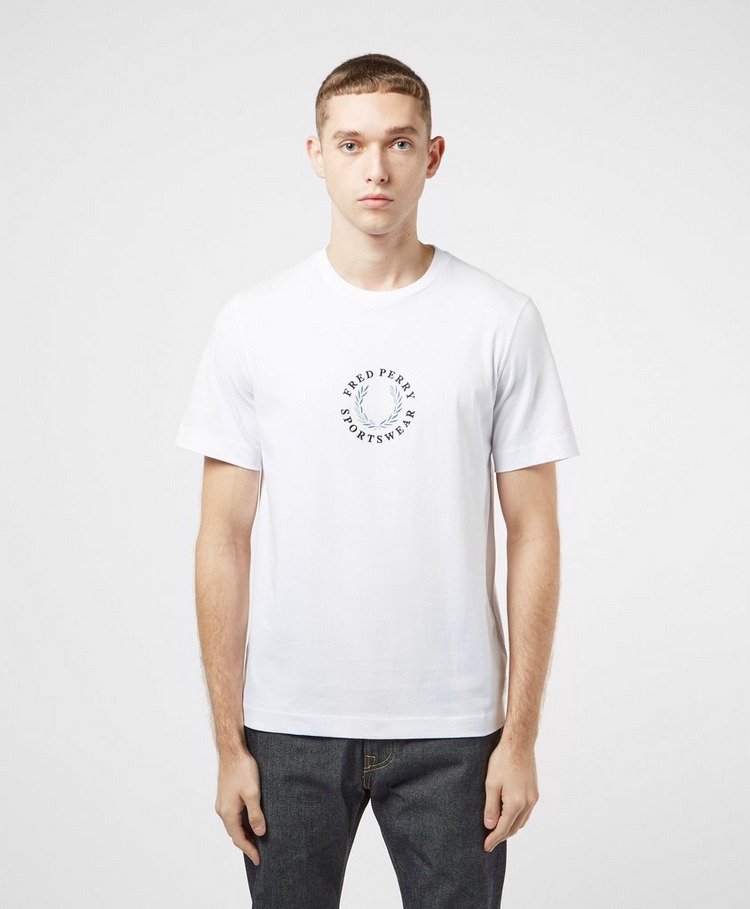 Fred Perry Global Logo Short Sleeve T-Shirt