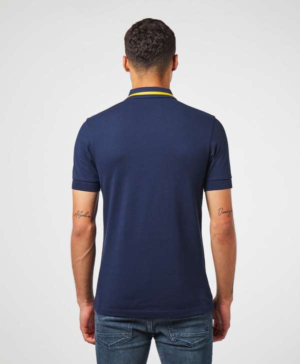 Fred Perry Zip Placket Short Sleeve Polo Shirt