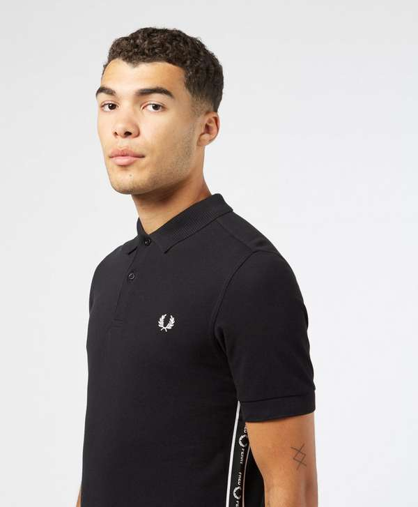 Fred Perry Taped Side Short Sleeve Polo Shirt