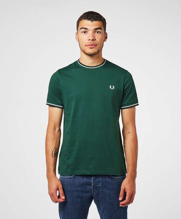 Fred Perry Tipped Short Sleeve T-Shirt