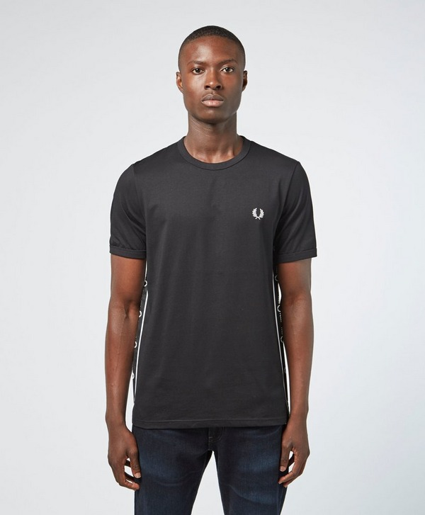Fred Perry Taped Side Short Sleeve T-Shirt