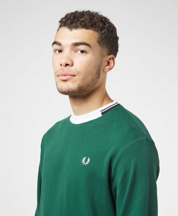 Fred Perry Contrast Collar Sweatshirt
