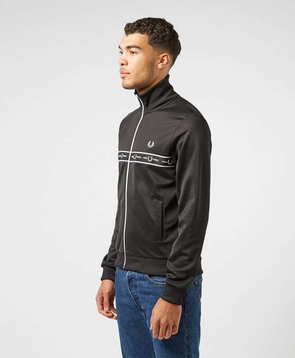 Fred Perry Taped Chest Full Zip Track Top