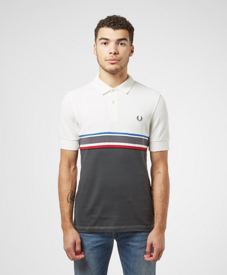 Fred Perry Chest Stripe Short Sleeve Polo Shirt