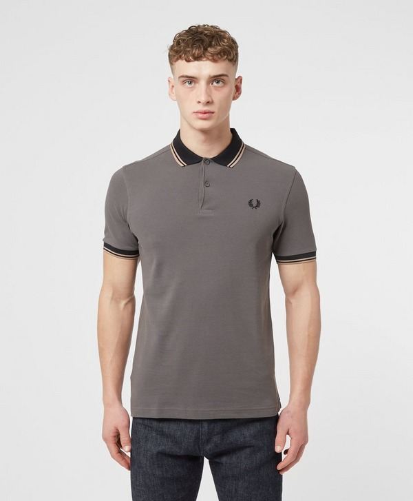 Fred Perry Contrast Rib Short Sleeve Polo Shirt