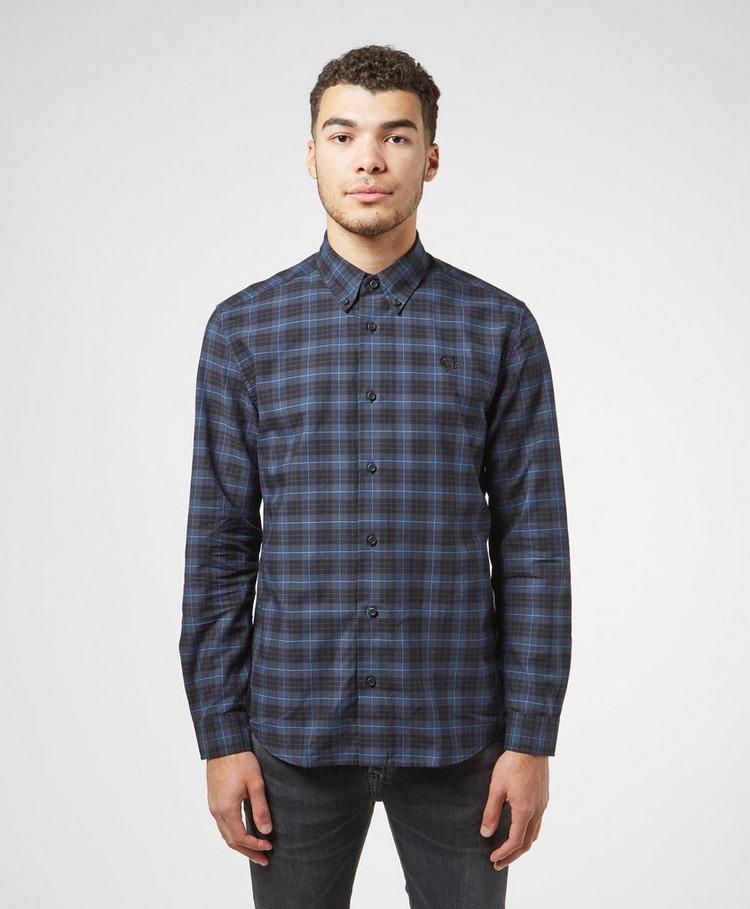 Fred Perry Tartan Long Sleeve Shirt