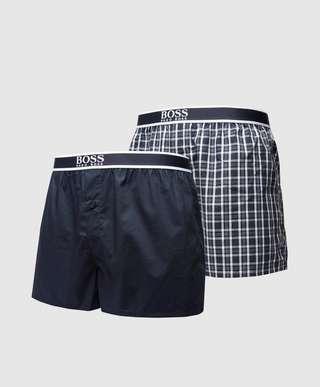 BOSS 2-Pack Woven Boxer Shorts