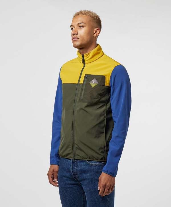 Barbour Beacon Colour Block Softshell Jacket