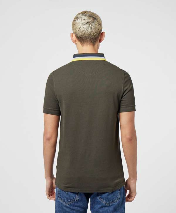 Barbour Beacon Tipped Collar Short Sleeve Polo Shirt