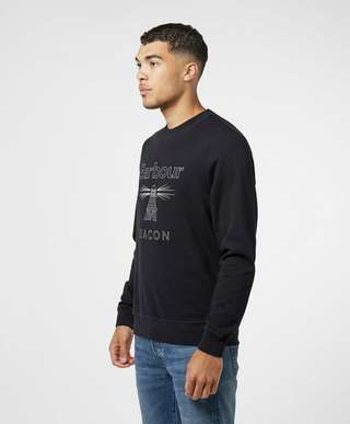 Barbour Beacon Rowan Logo Sweatshirt