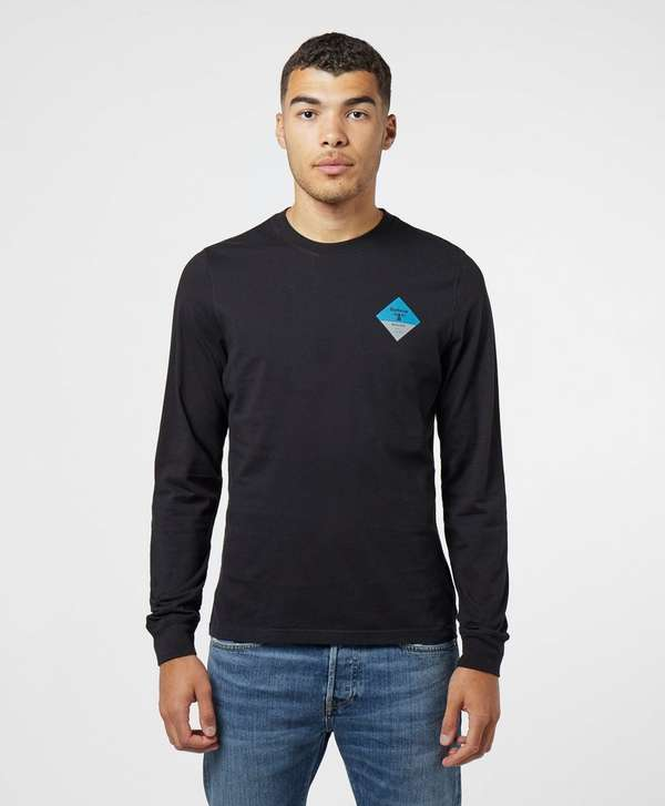 Barbour Beacon Back Print Long Sleeve T-Shirt