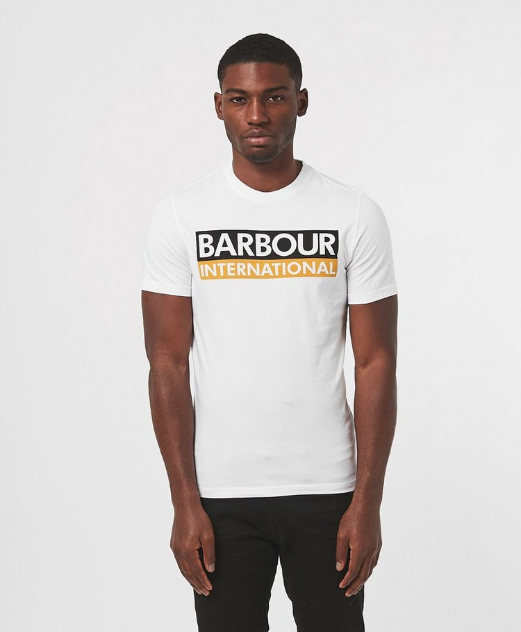 Barbour International Cap Logo Short Sleeve T-Shirt