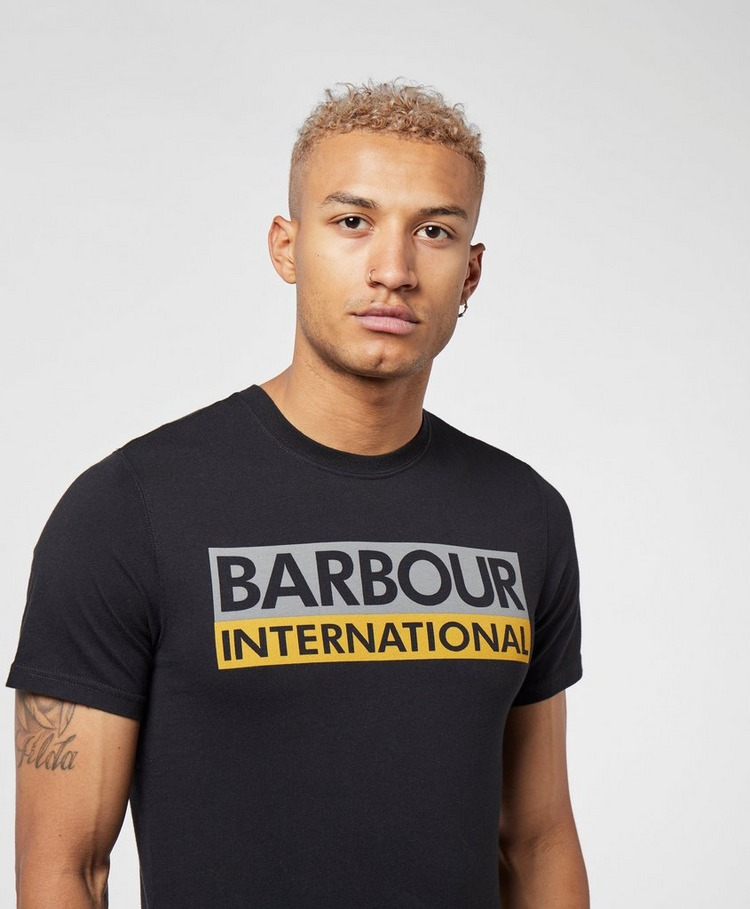 Barbour International Cap Logo Short Sleeve T-Shirt