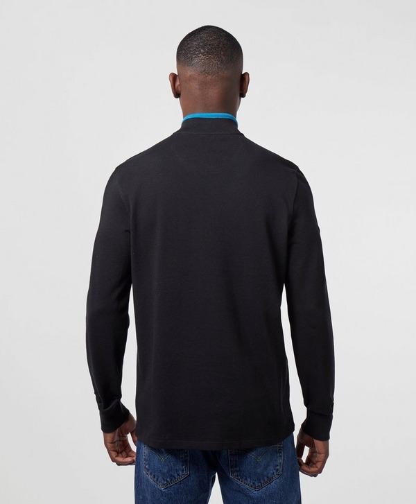 Barbour International Half Zip Pique Sweatshirt