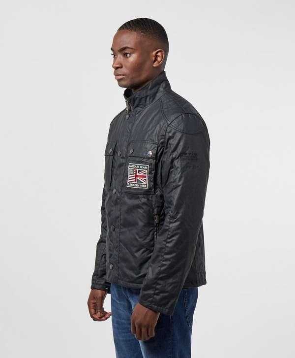 Barbour International Steve McQueen Ashbury Waxed Jacket
