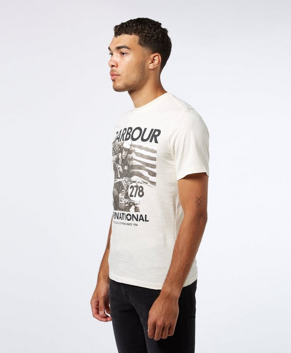 Barbour International Steve McQueen 278 Time Short Sleeve T-Shirt
