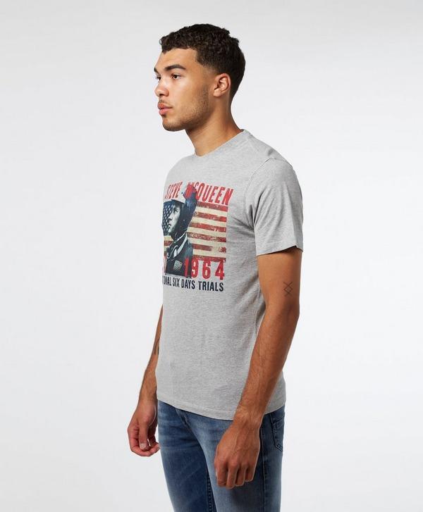 Barbour International Steve McQueen Profile Short Sleeve T-Shirt