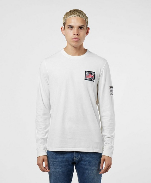Barbour International Steve MCQueen Team Long Sleeve T-Shirt