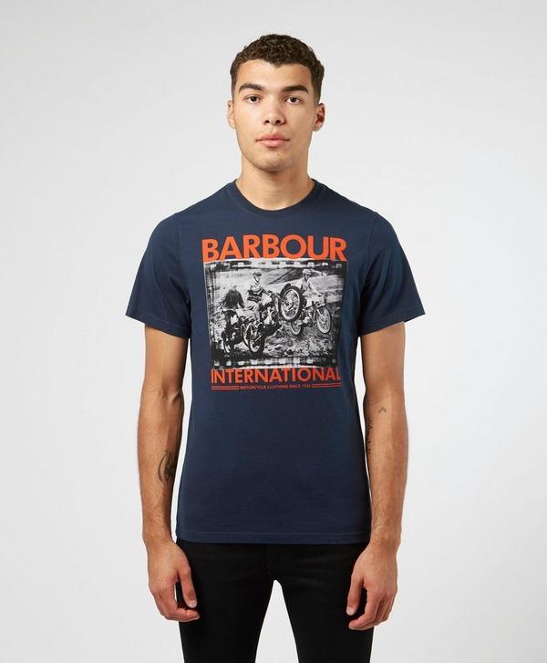 Barbour International Bike Photograph Short Sleeve T-Shirt