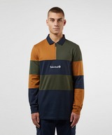 Timberland Half Zip Long Sleeve Polo Shirt