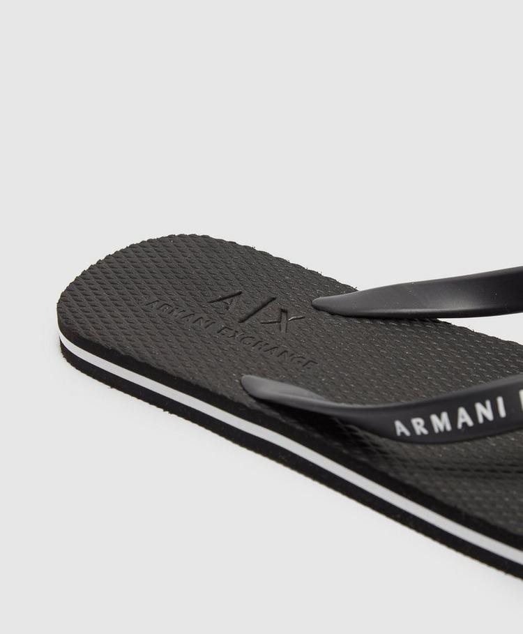Armani Exchange Flip Flops