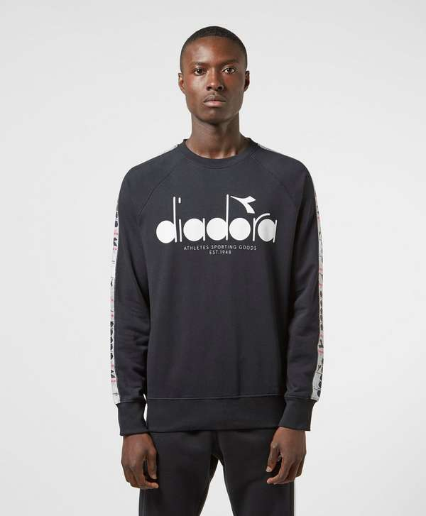 Diadora Large Logo Tape Sweatshirt
