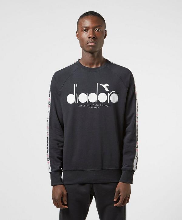Diadora Large Logo Tape Sweatshirt