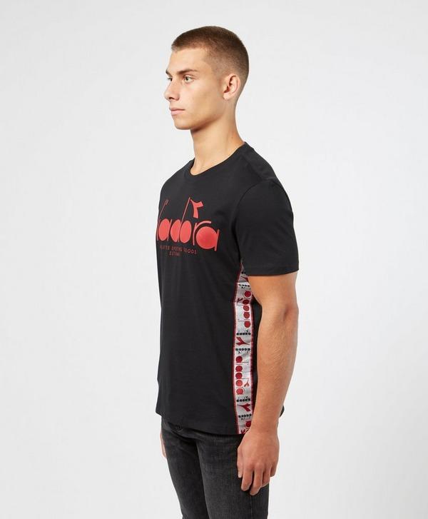 Diadora Large Logo Short Sleeve Tape T-Shirt