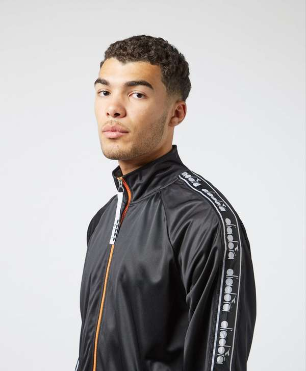 Diadora Tape Sleeve Full Zip Track Top