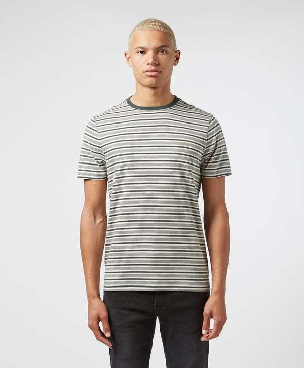 Farah Reeth Stripe Short Sleeve T-Shirt
