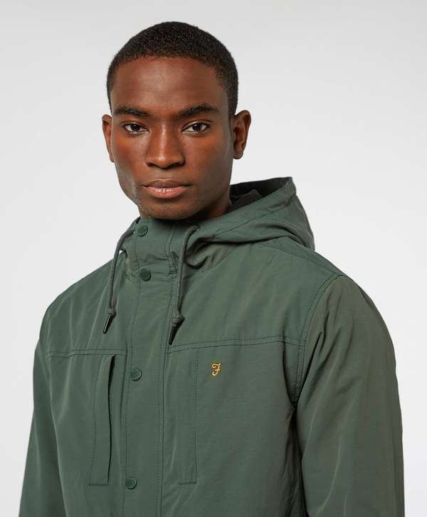 Farah Maguire Fleece Lined Hooded Jacket
