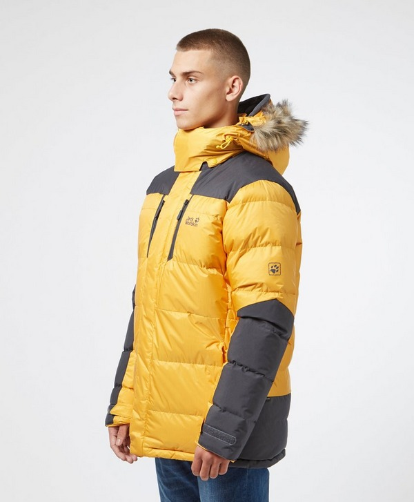 Jack Wolfskin Cook Down Padded Jacket | scotts Menswear